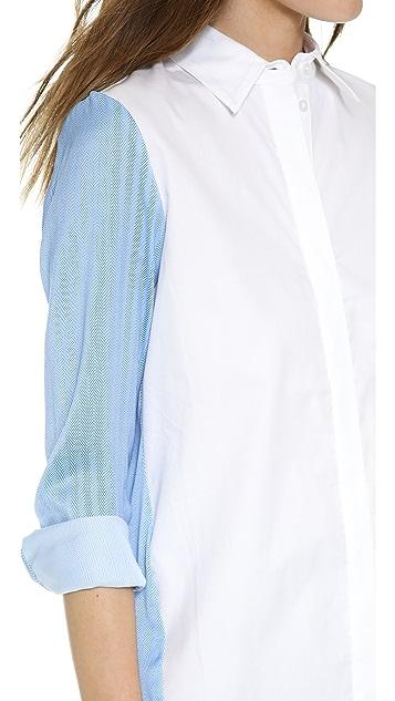 Chalk Mallet Shirt Dress