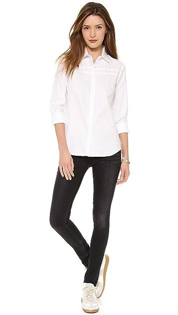 Chalk Pony Collar Shirt