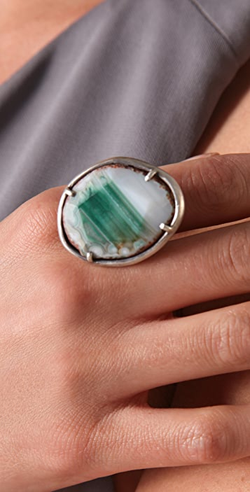 Chan Luu Green Agate Ring