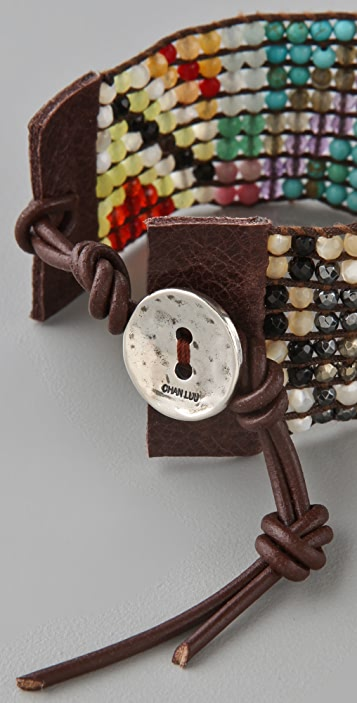 Chan Luu Multicolored Beaded Bracelet