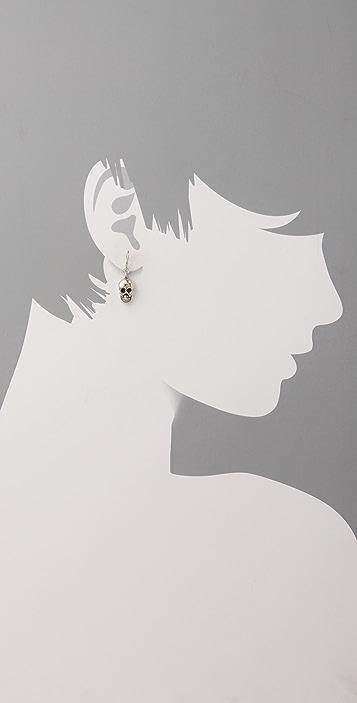 Chan Luu Skull Drop Earrings