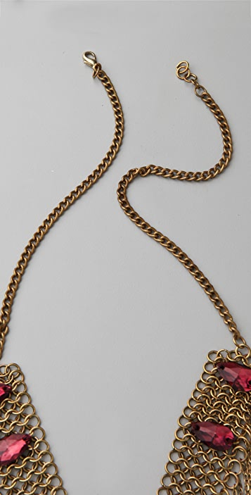 Chan Luu Chain Necklace with Crystals