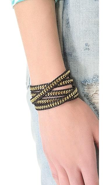 Chan Luu Chain Wrap Bracelet