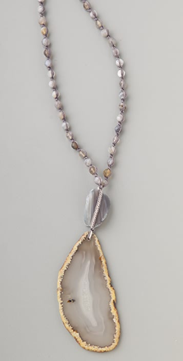 Chan Luu Agate Pendant Necklace