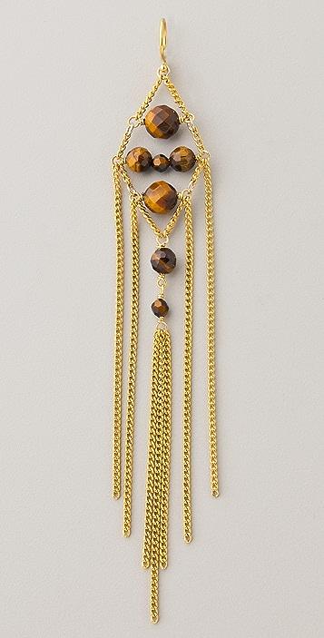 Chan Luu Chain & Bead Earrings