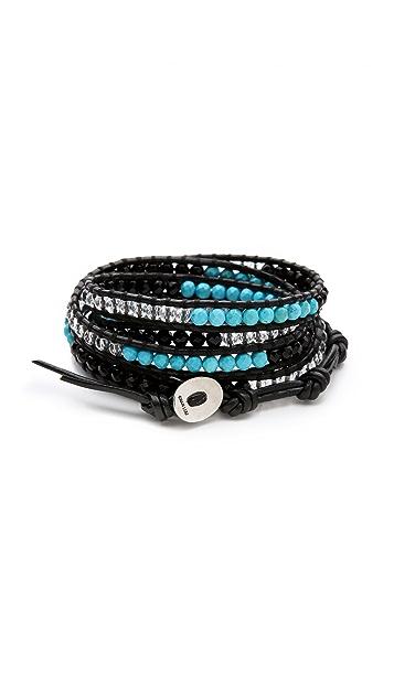 Chan Luu Mixed Agate Wrap Bracelet