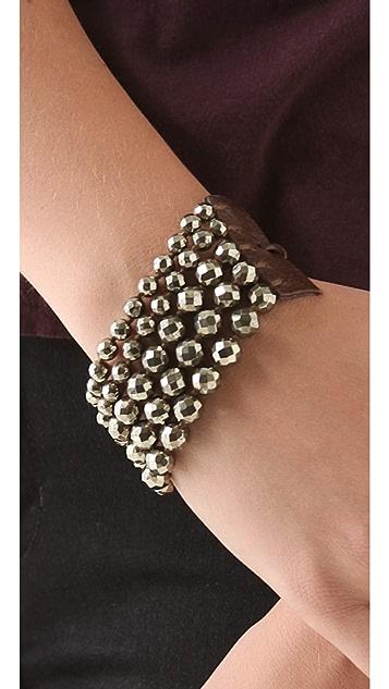 Chan Luu Pyrite Bracelet