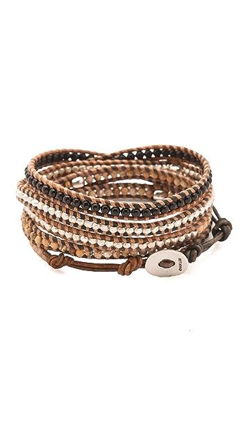 Chan Luu Skull Wrap Bracelet