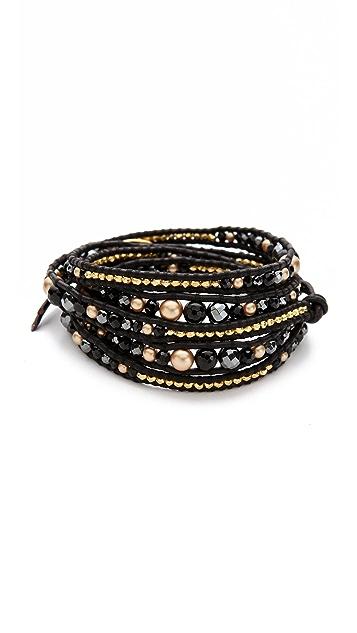 Chan Luu Graduated Wrap Bracelet