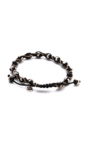 Chan Luu Beaded Single Wrap Bracelet