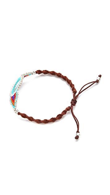 Chan Luu Beaded Eye Bracelet