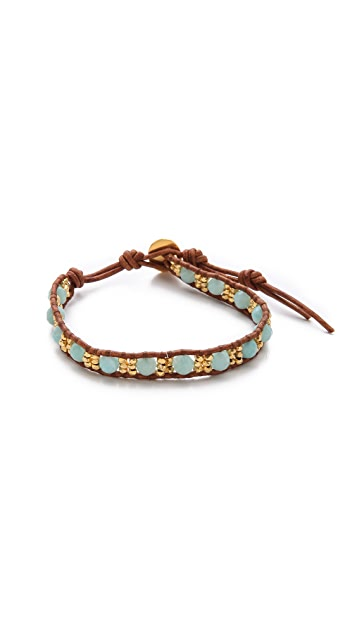 Chan Luu Amazonite Beaded Bracelet