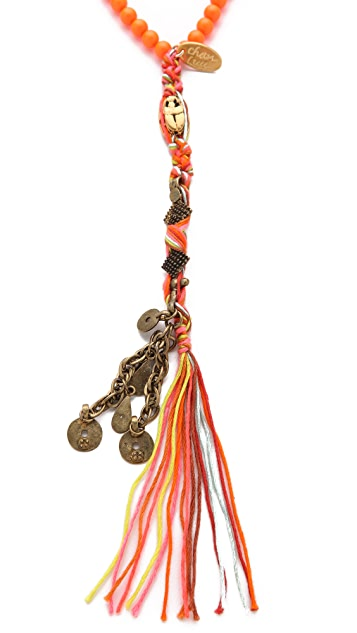 Chan Luu Rosary Charm Necklace