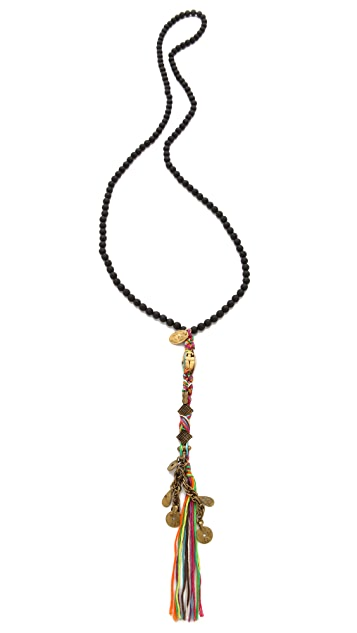 Chan Luu Onyx Beaded Necklace