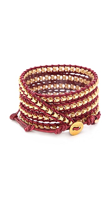 Chan Luu Round Beaded Bracelet