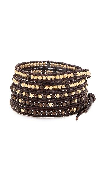 Chan Luu Ombre Beaded Wrap Bracelet