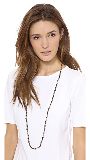 Chan Luu Sardonyx Beaded Necklace