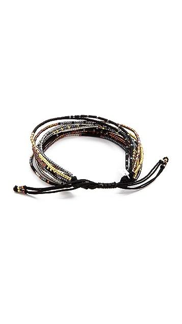 Chan Luu Beaded Tie Bracelet