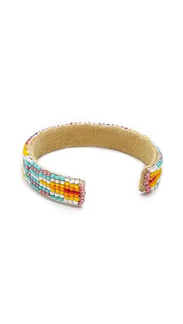 Chan Luu Beaded Cuff Bracelet