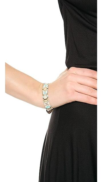 Chan Luu Tribal Beaded Wrap Bracelet