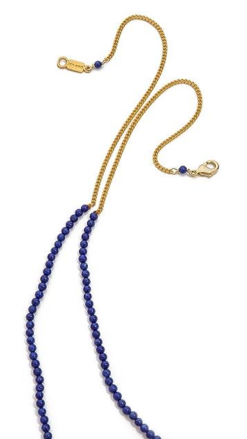 Chan Luu Beaded Charm Necklace