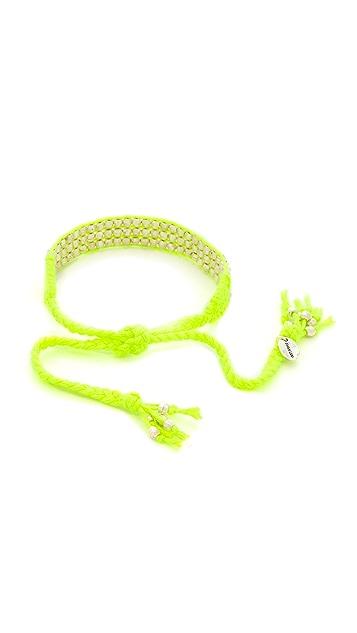 Chan Luu Beaded Woven Bracelet