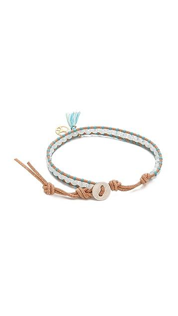 Chan Luu Peace Beaded Bracelet