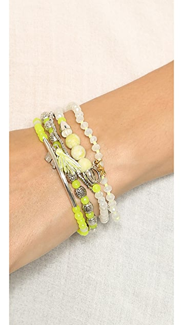 Chan Luu Beaded Bracelet Set