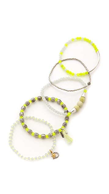 Chan Luu Beaded Bracelet Set