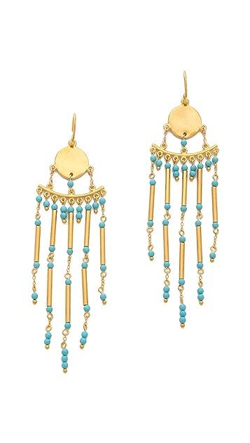 Chan Luu Beaded Drop Earrings