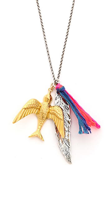 Chan Luu Bird Charm Necklace