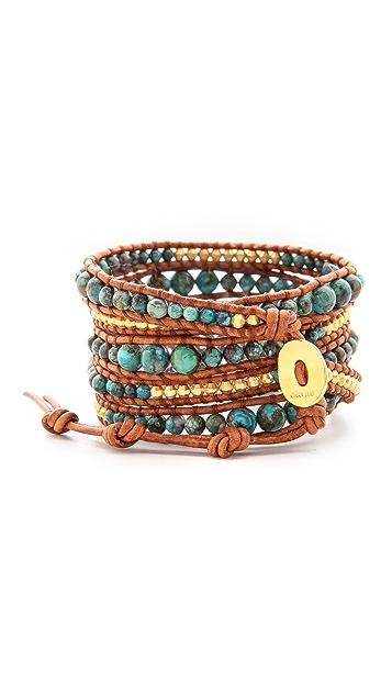 Chan Luu Turquoise Wrap Bracelet