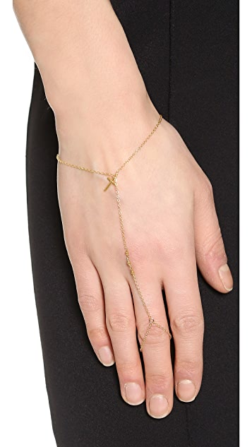 Chan Luu Cross Hand Chain