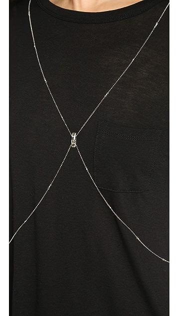 Chan Luu Crystal Body Chain