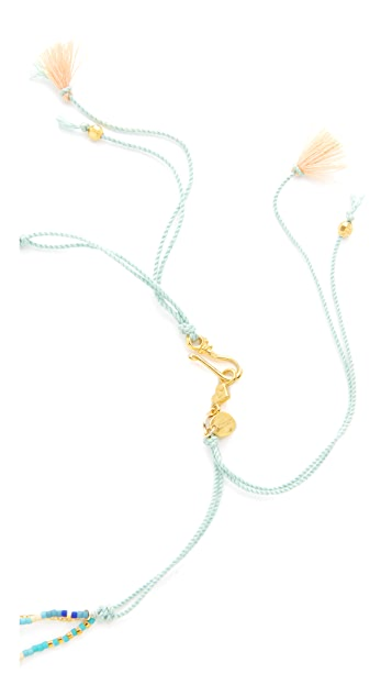Chan Luu Beaded Shell Layered Necklace
