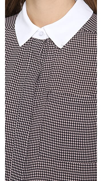 Charles Henry Houndstooth Work Shirt