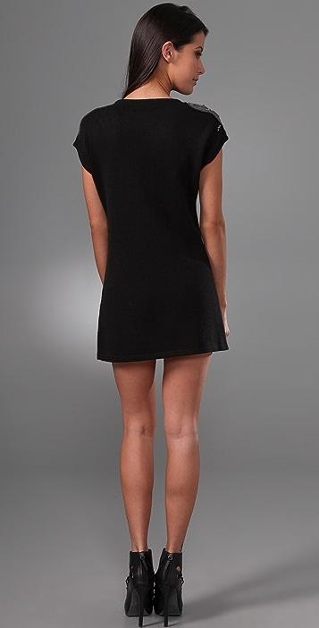 Charlotte Ronson Sweater Shift Dress
