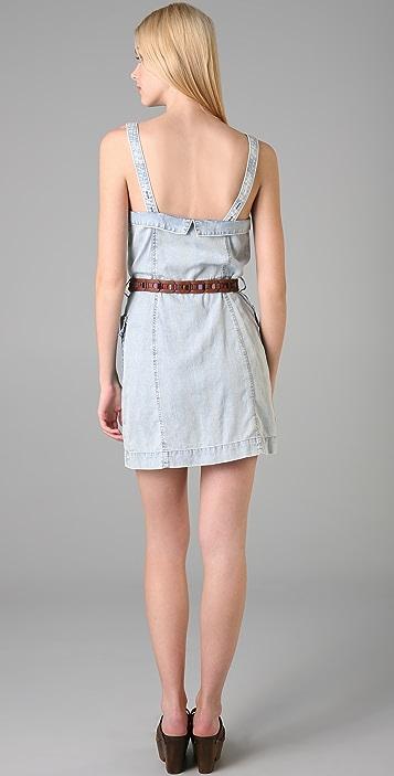 Charlotte Ronson Button Front Dress