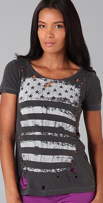 Chaser Flag Stripes Tee