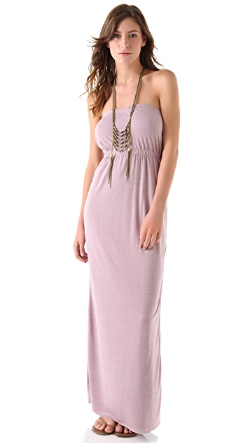 Chaser Open Back Maxi Dress