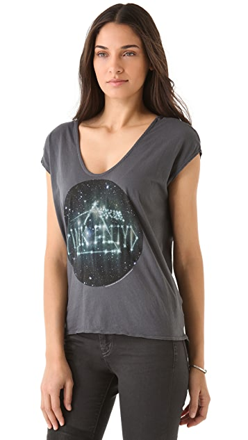 Chaser Constellation Pink Floyd Tee