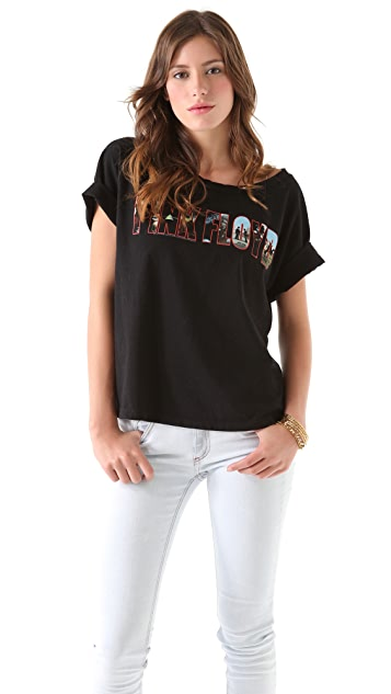 Chaser Pink Floyd Boxy Tee Shirt