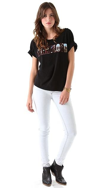 Chaser Pink Floyd Boxy Tee Shirt