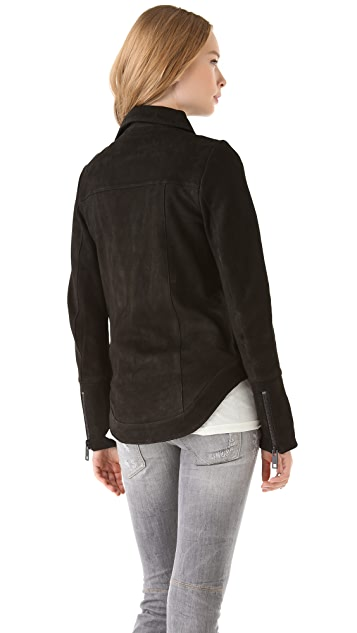 Chaser Classic Leather Moto Jacket