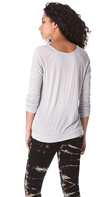 Chaser Blues Project Raglan Top