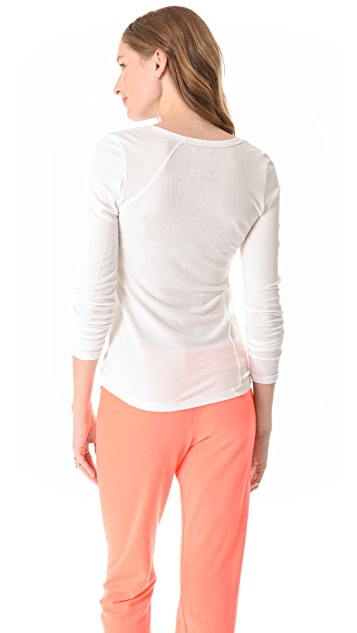 Chaser Thermal Seamed Open Crew Tee