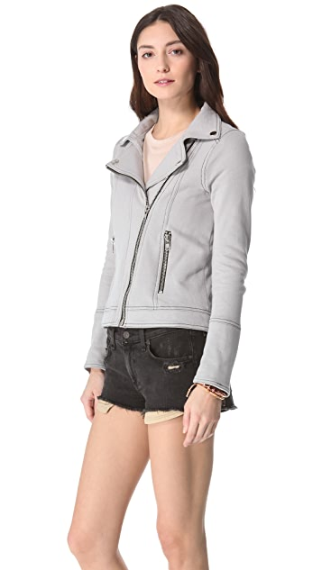 Chaser Fleece Moto Jacket