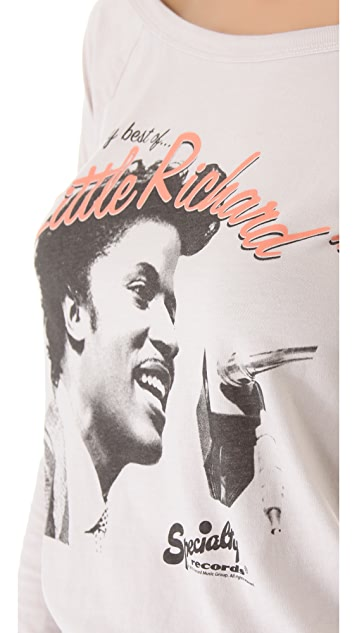 Chaser Little Richard Raglan Top