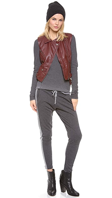 Chaser Contrast Slouchy Pant