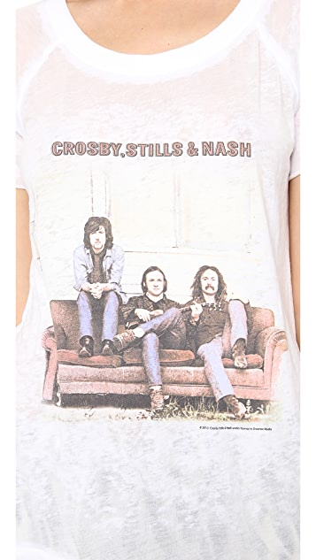 Chaser Crosby Stills & Nash Tee